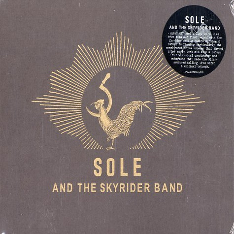 Sole And The Skyrider Band - Sole And The Skyrider Band