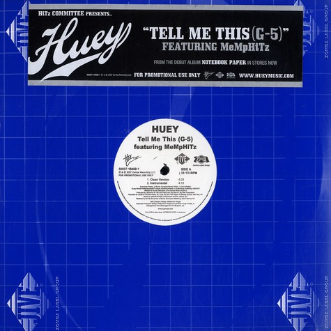 Huey - Tell me this (G-5) feat. MeMpHiTz