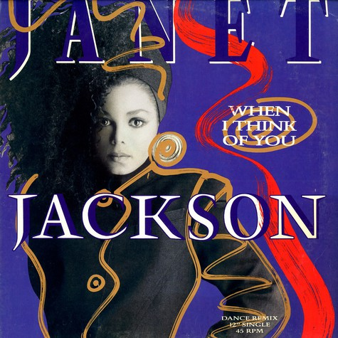 Janet Jackson - When I Think Of You (Dance Remix)