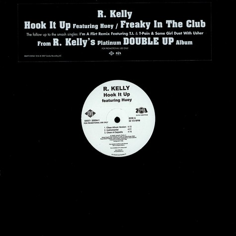 R.Kelly - Hook it up feat. Huey