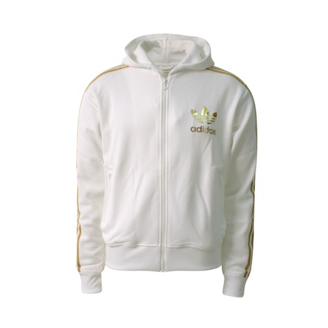 adidas - Hooded flock track top