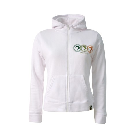 Yard - Seal zip-up girls hoodie