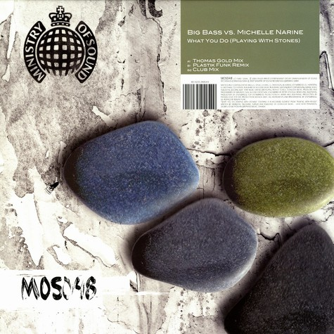 Big Bass vs. Michelle Narin - What you do (planing with stones)
