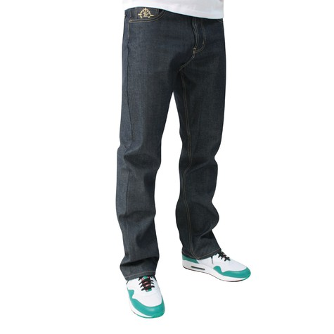 Akomplice - Class act jeans - gold thread