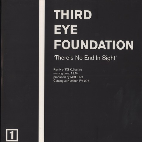 Third Eye Foundation, The - There's no end in sight