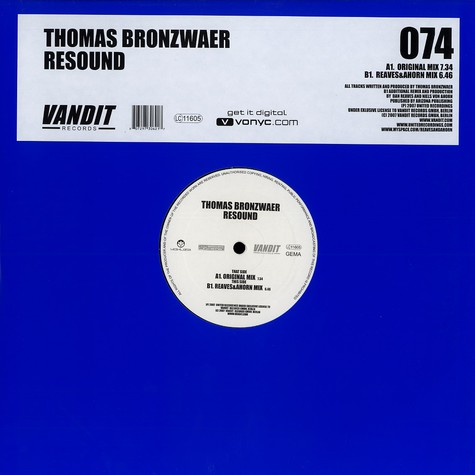 Thomas Bronzwaer - Resound