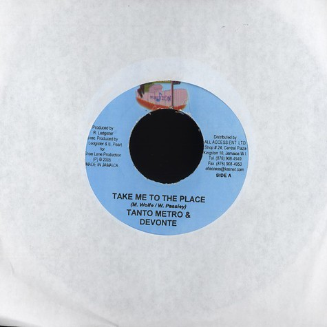 Tanto Metro & Devonte - Take me to the place