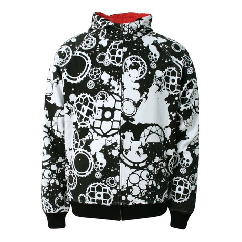 Dissizit! - Fixed gear zip-up hoodie