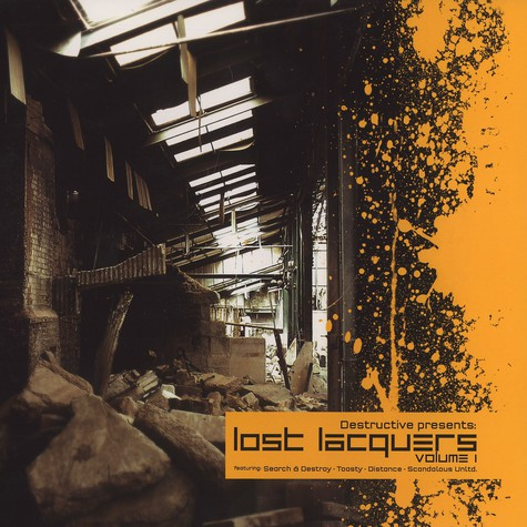 Destructive presents - The lost lacquers EP volume 1