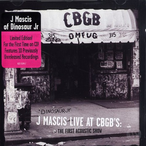 Dinosaur Jr. - J Mascis live at CBGB's