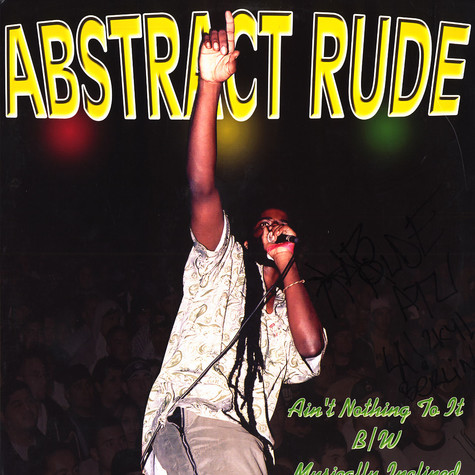 Abstract Rude - Ain't nothing to it