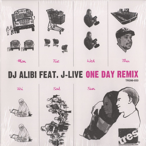 DJ Alibi - One day remix feat. J-Live