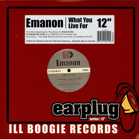 Emanon - What You Live For