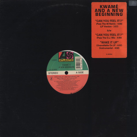 Kwame And A New Beginning - Can you feel it!?