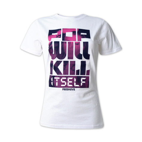 Fresh Jive - Pop will kill itself Women T-Shirt