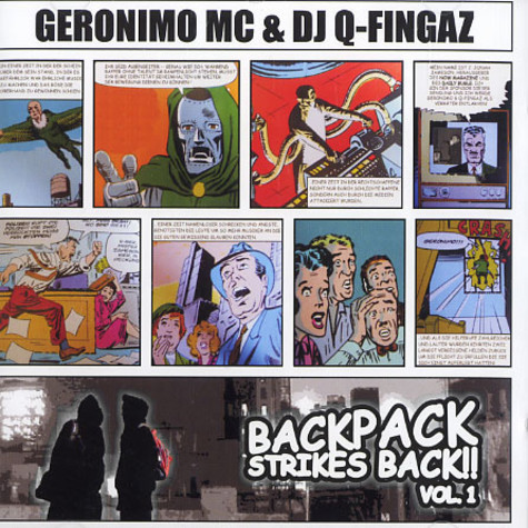 Geronimo MC & DJ Q-Fingaz - Backpack strikes back volume 1