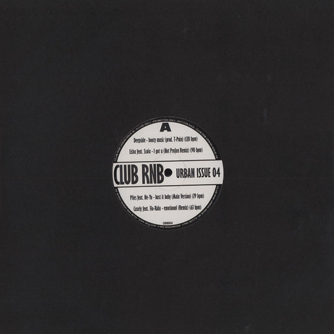 Club RnB - Urban issue 4