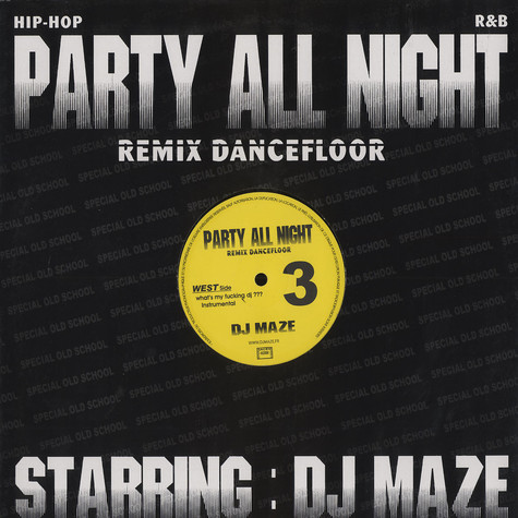 DJ Maze - Party all night remix dancefloor 3