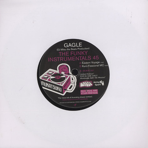Gagle - The funky instrumentals 45