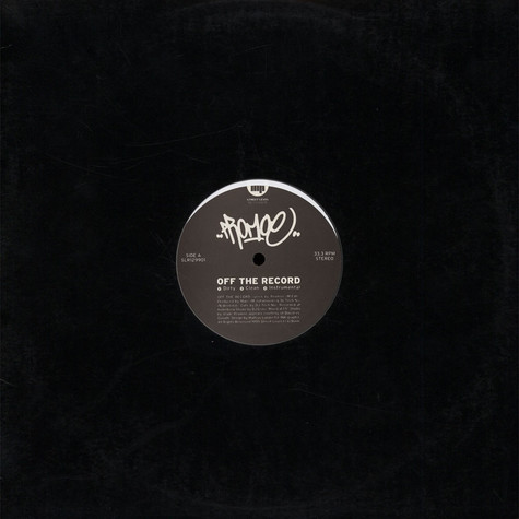Promoe - Off The Record
