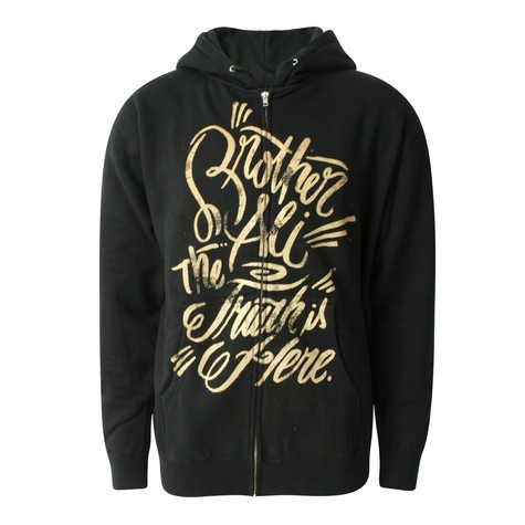 Brother Ali - The truth zip-up hoodie