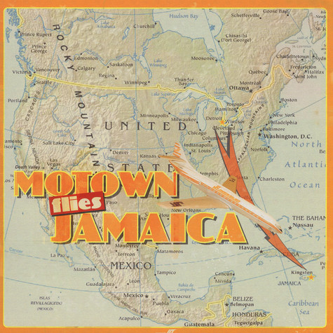 V.A. - Motown flies Jamaica