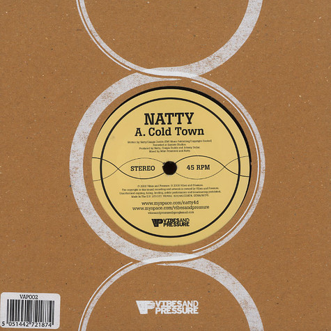 Natty - Cold town