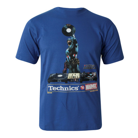 Technics vs Marvel - Captain America T-Shirt