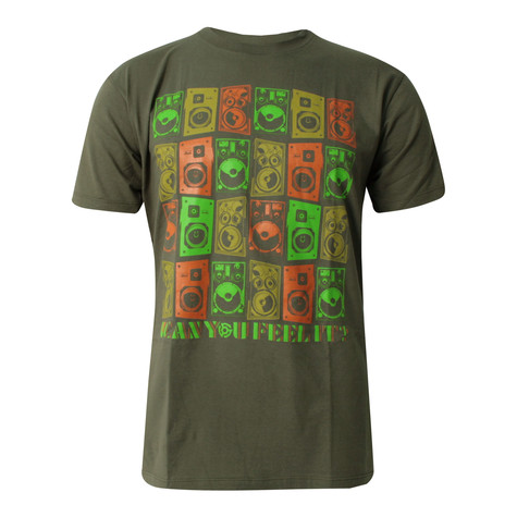 101 Apparel - Can you feel it T-Shirt