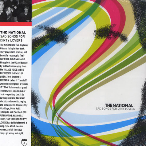 National, The - Sad songs for dirty lovers
