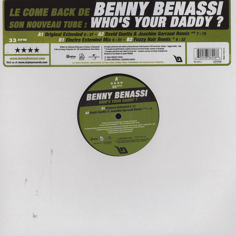 Benny Benassi - Who's your daddy?