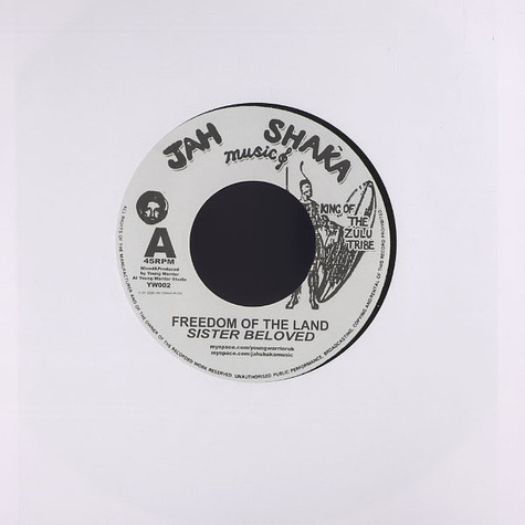 Sister Beloved / Young warrior - Freedom of the land / freedom of the dub