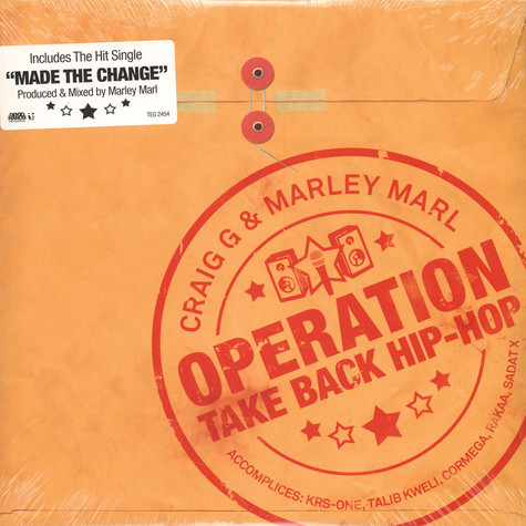 Craig G & Marley Marl - Operation take back hip hop