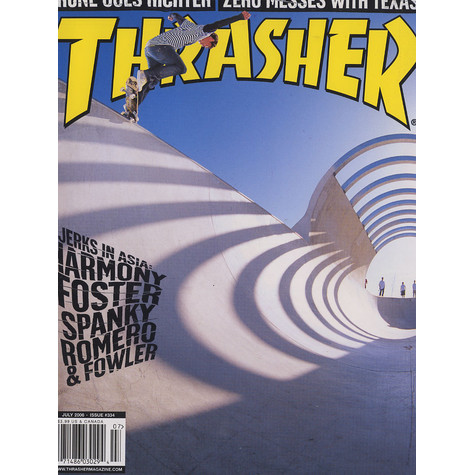 Thrasher Magazine - 2008 - July - Issue 334