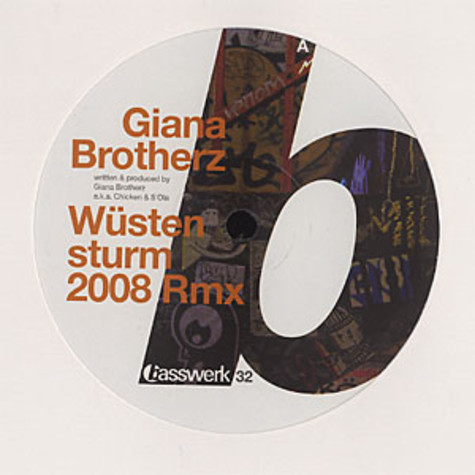 Giana Brotherz / Dementia & Nme Click - Wüstensturm 2008 remix / always on my mind