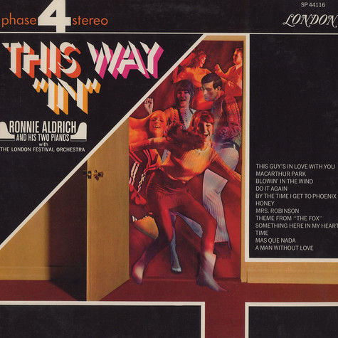 Ronnie Aldrich - This way in