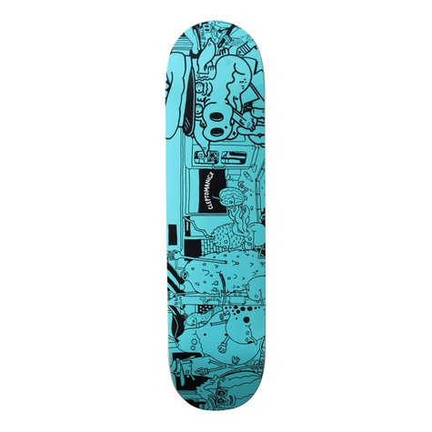 Cleptomanicx - Skateboard deck - Fruit Attac design