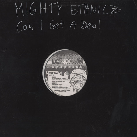 Mighty Ethnicz - Can i get a deal