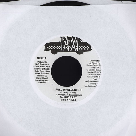 Tarrus Riley & Jimmy Riley - Pull up selector