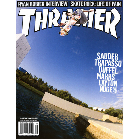 Thrasher Magazine - 2008 - August - Issue 336