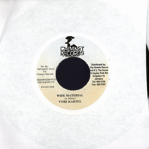 Vybz Kartel / Chico - Wife material / you don't scare we