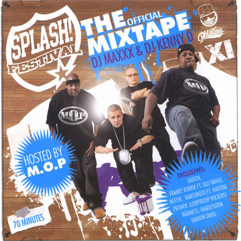 Splash The Mixtape - The official mixtape 2008