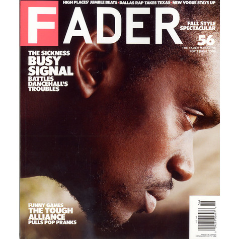 Fader Mag - 2008 - September - Issue 56