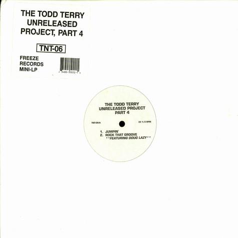 Todd Terry  - Unreleased project part 4