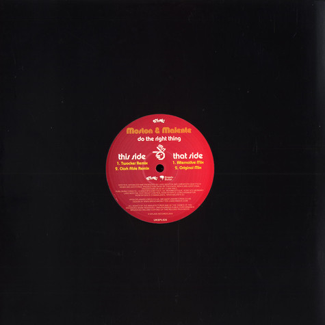 Moston & Malente - Do the right thing