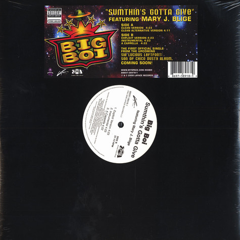 Big Boi of Outkast - Sumthin's gotta give feat. Mary J. Blige
