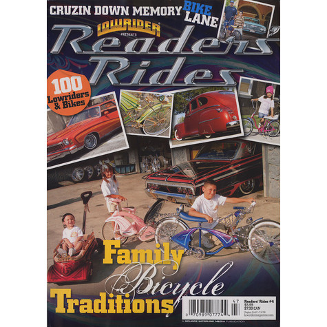 Lowrider Magazine presents - Readers' rides - family bicycle traditions