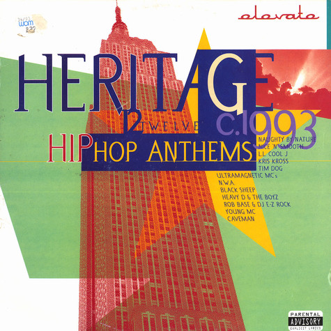 V.A. - Heritage - 12 hip hop anthems