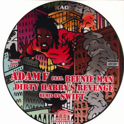 Adam F - Dirty Harry's Revenge remix feat. Beenie Man