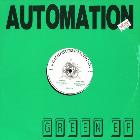 Automation - Green EP